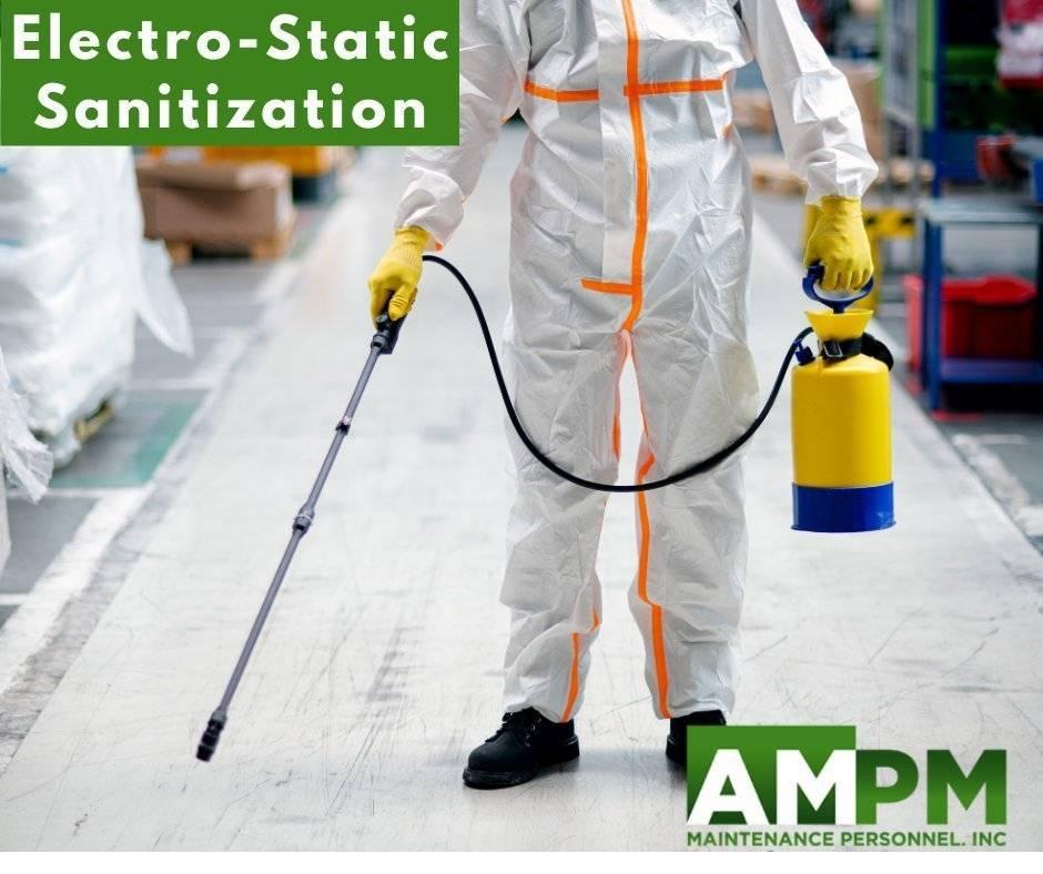Electro-Static Sanitization
